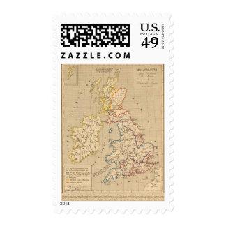 Bretagne apres l'invasion des Saxons Postage