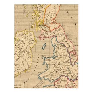 Bretagne apres l'invasion des Saxons Postcard
