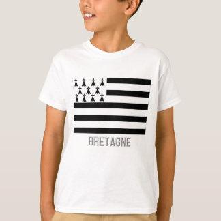 Bretagne flag with name T-Shirt