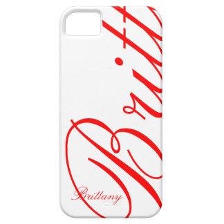 Bretaña - caso hermoso del iPhone 5 - iPhone 5 Funda