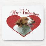 Bretaña mi tarjeta del día de San Valentín Tapete De Raton