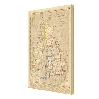 Bretaña Saxonne Anglo, Jesucristo de 600 apres de  Impresión En Lona Estirada