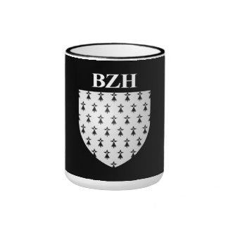 Breton blazon mugs