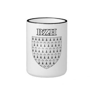Breton blazon coffee mugs