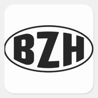Breton BZH Brittany Breizh Square Sticker