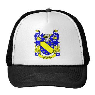 BRETON Coat of Arms Trucker Hats
