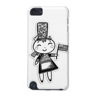 Breton girl iPod touch 5G cover
