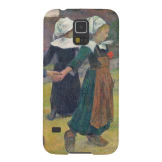 Breton Girls Dancing, Pont-Aven, 1888 Galaxy S5 Cover