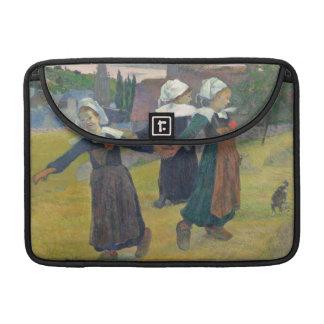 Breton Girls Dancing, Pont-Aven, 1888 MacBook Pro Sleeve