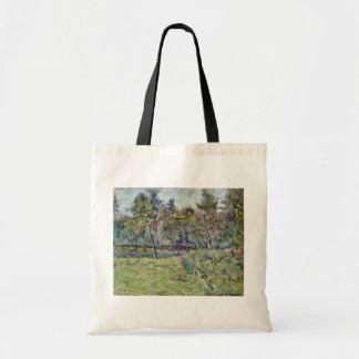 Breton Landscape By Gauguin Paul (Best Quality) Canvas Bags