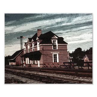 Bretón Nueva Escocia del cabo del ferrocarril de O Arte Fotografico