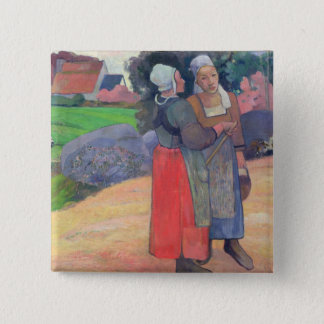Breton Peasants, 1894 Button