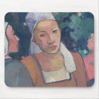 Breton Peasants, 1894 (oil on canvas) Mouse Pad