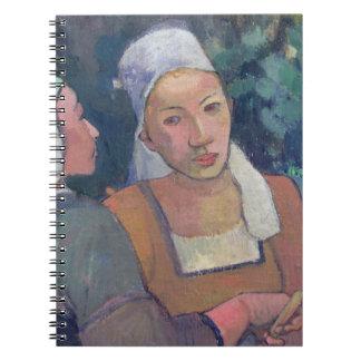 Breton Peasants, 1894 (oil on canvas) Notebook