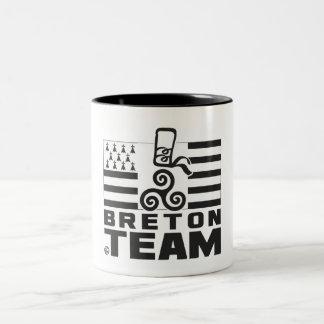 BRETON TEAM Two-Tone COFFEE MUG