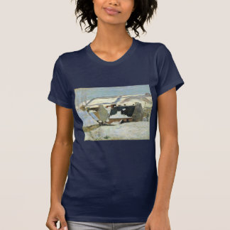 Breton Village In The Snow By Gauguin Paul Tshirts