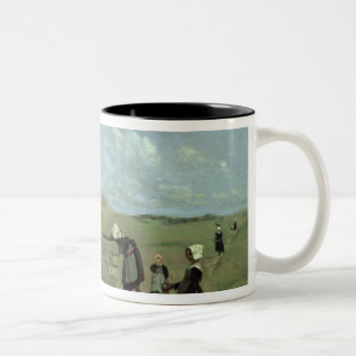Breton Women at the Well near Batz, c.1842 Coffee Mug