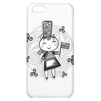 Bretonne fille iPhone 5C covers