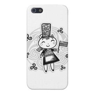 Bretonne fille iPhone 5 cover
