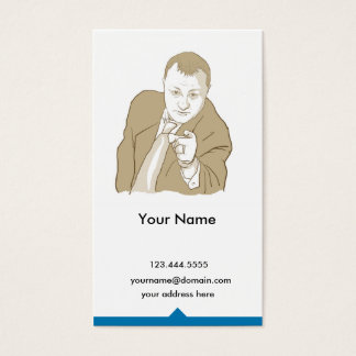 brett business card