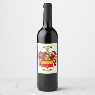 Brett (English) Wine Label