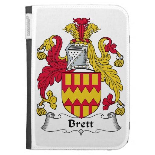 Brett Family Crest Kindle 3 Cases