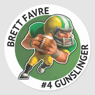 Brett Favre Sticker