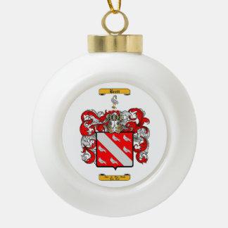 Brett (Irish) Ceramic Ball Christmas Ornament