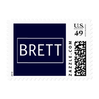 Brett Postage Stamps