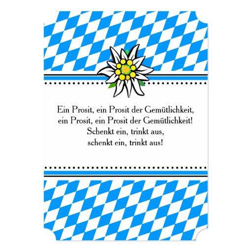 Brettchen Octoberfest invitation