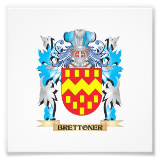 Brettoner Coat of Arms Art Photo