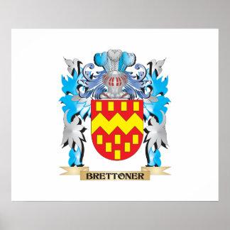 Brettoner Coat of Arms Poster