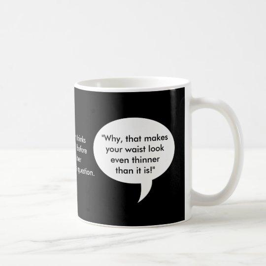 Brett's Mother thinks long and hard... Coffee Mug