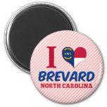 Brevard, Carolina del Norte Imán De Nevera