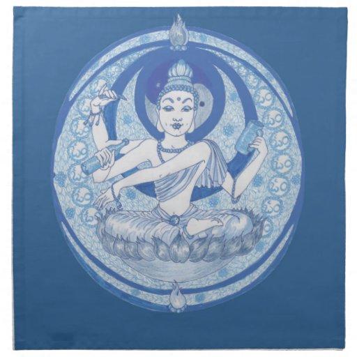 Brew azul del Bodhisattva Servilleta
