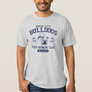 Brew City Bulldogs Speed Drinking Team T-shirt