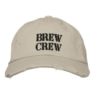 BREW CREW HAT EMBROIDERED HATS