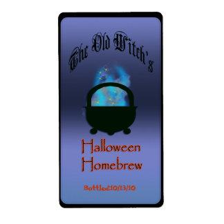 brew de Halloween Etiqueta De Envío
