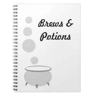 Brew de la caldera cuaderno