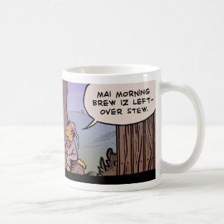 Brew de la mañana tazas de café