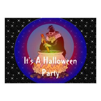 Brew de las brujas para usted también invitación personalizada