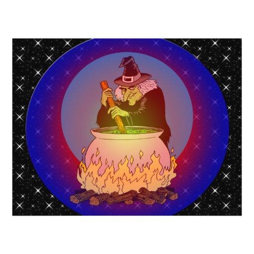 Brew de las brujas para usted tarjetón
