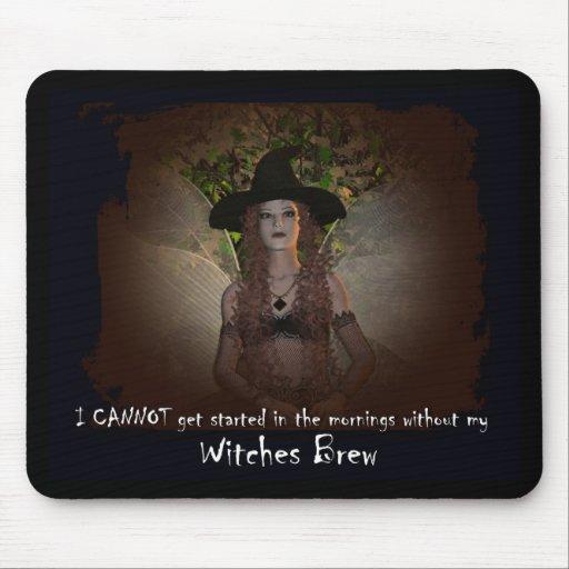 Brew de las brujas tapete de raton