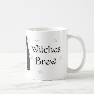 Brew de las brujas tazas de café