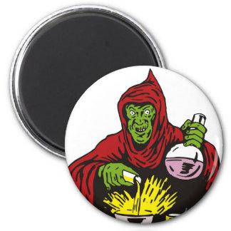 brew de mezcla del brujo malvado del mago imanes para frigoríficos