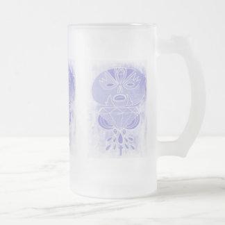 Brew fantasmal jarra de cerveza esmerilada