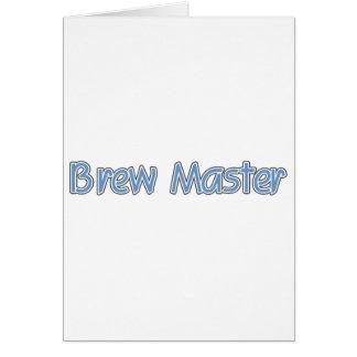 Brew Master (blue) Card