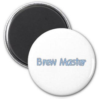 Brew Master (blue) Magnets