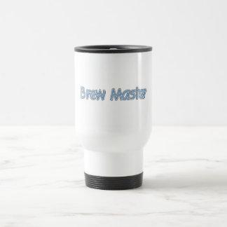 Brew Master (blue) Travel Mug