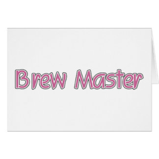 Brew Master Card